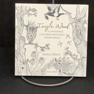 Tangle Wood coloring book